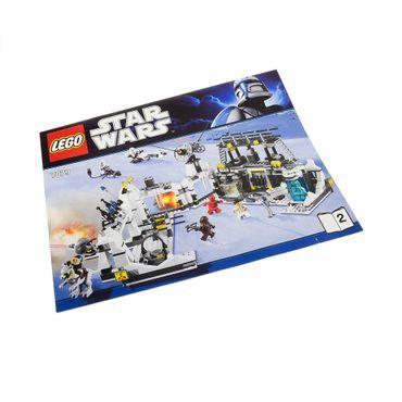 1 x Lego System Bauanleitung A4 Heft 2 für Set Star Wars Hoth Echo Basis 7879