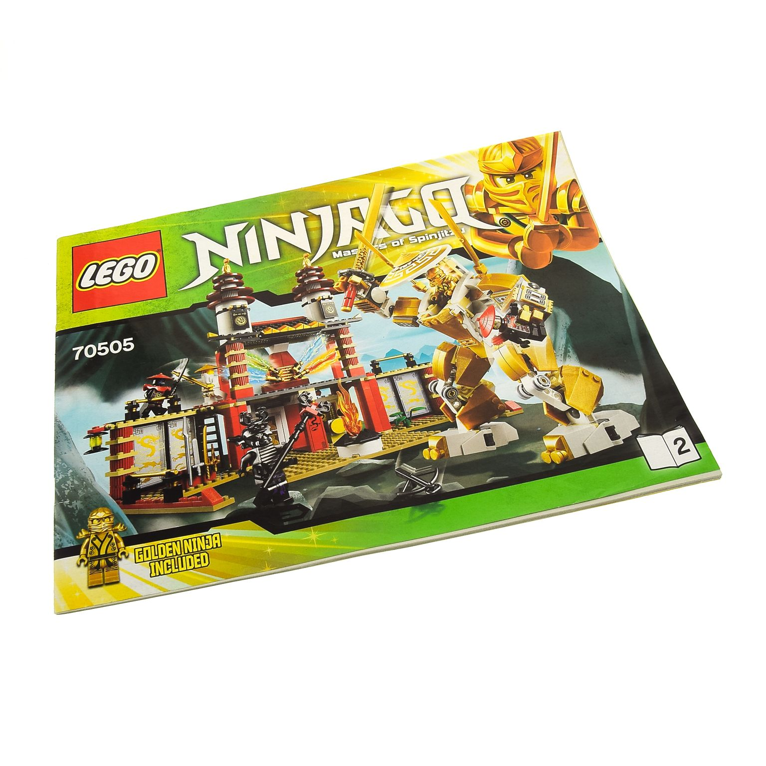 Notice de montage lego ninjago 70505 - Jeux ninjago final battle ...