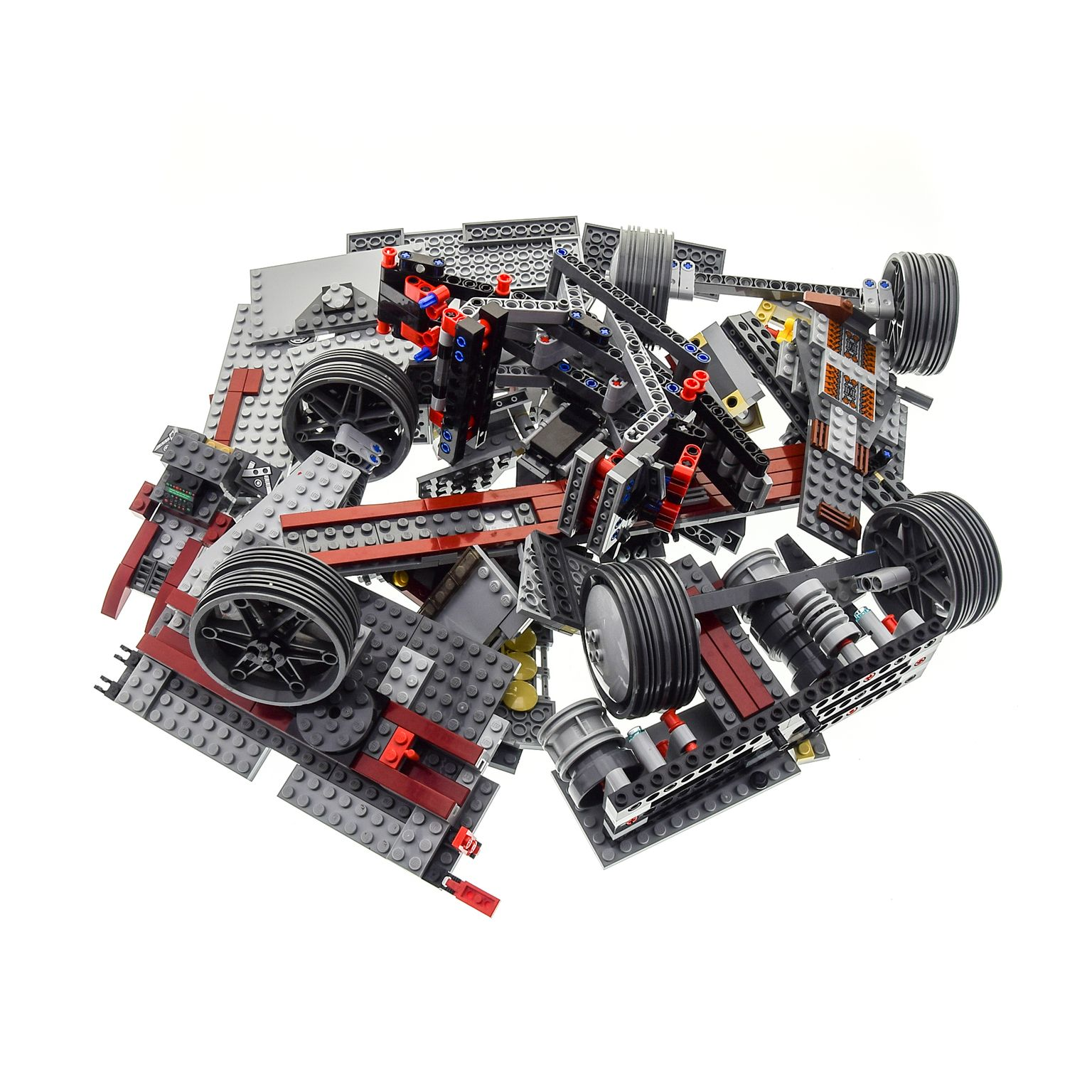 1 x lego system teile set f r modell 8098 clone turbo tank. Black Bedroom Furniture Sets. Home Design Ideas