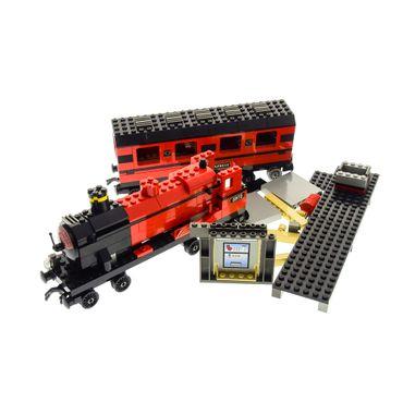 1 x Lego System Set Harry Potter Zug 9V 4708 Hogwarts Express Eisenbahn rot incomplete unvollständig