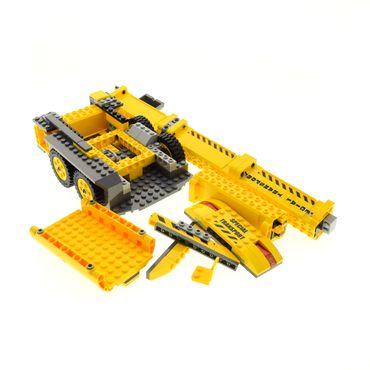 1 x Lego brick for Set 7249 yellow dark gray XXL Mobile Crane ( model incomplete )