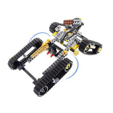 1 x Lego System Set Modell Legends of Chima 70005 Laval's Royal Fighter Lavals Löwen-Quad grau orange incomplete unvollständig
