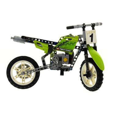 1 x Lego brick 8291 Dirt Bike ( model incomplete )