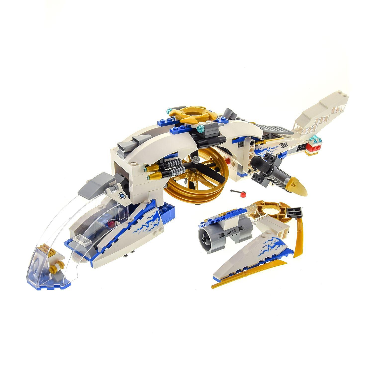 1 X Lego Brick Instructions Ninjago Rebooted Ninjacopter 70724