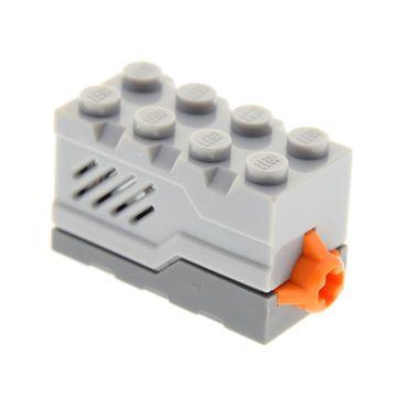 1 x Lego System Electric Sound & Light Modul Stein neu-hell grau 2x4x2 neu-dunkel grau Space Raumschiff Geräusch geprüft Set 7065 4625192 55206c05