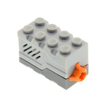 1 x Lego System Electric   Sound & Light Modul Stein neu-hell grau 2x4x2 neu-dunkel grau Tier Gebrüll Dinosaurier Geräusch geprüft Set 4958 4510216 55206c02