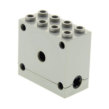 1 x Lego brick light gray Technic, Gearbox 2 x 4 x 3 872 768