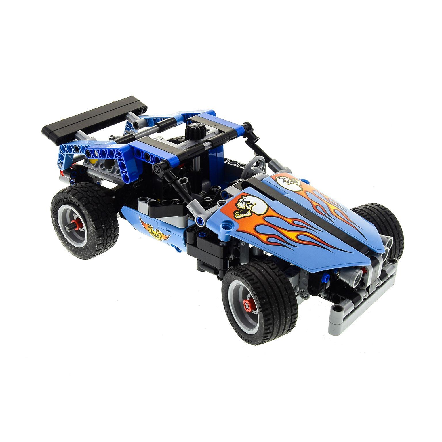 1 X Lego Technic Set Modell Race 42022 Rennwagen Hot Rod Car Technik