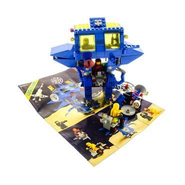 1 x Lego System Teile Set für Nr. 6951 Classic Space Kommandozentrum 3 x Figuren blau grau Bauanleitung BA incomplete unvollständig