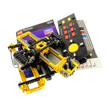 1 x Lego Technic Set Modell 8094 Universelles Bau Set Control Center elektrisch Kabel Technik incomplete unvollständig
