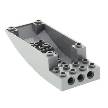1 x Lego System Cockpit neu-hell grau 10x4x2 gebogen Unterteil Set Star Wars 8096 4215881 47846