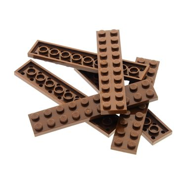 LEGO Brown Broom Sticks x 5 For Minifigure 3836