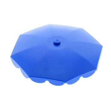 1 x Lego brick blue Umbrella Top with Rounded Bottom Flaps Mickey Mouse 4165 6252
