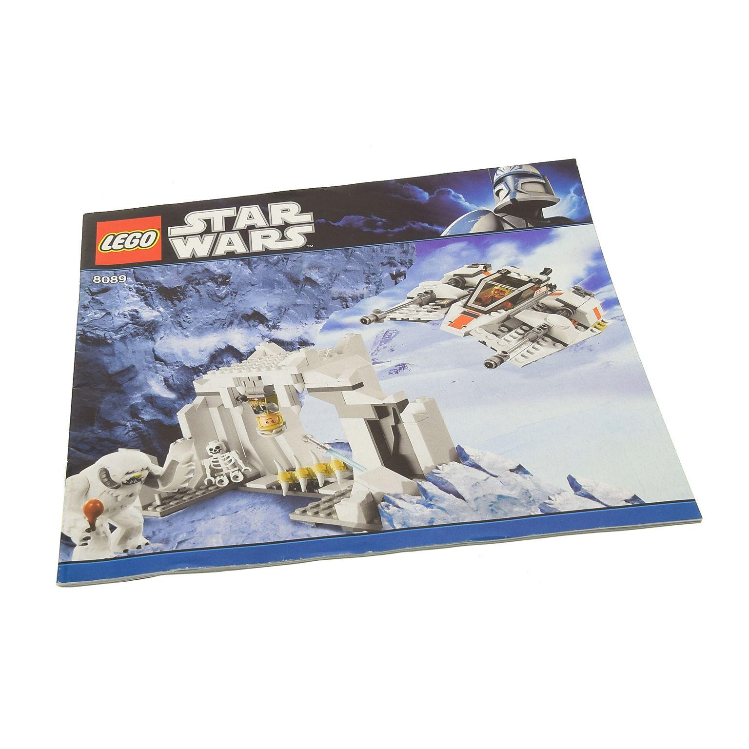 1 X Lego Brick Instructions Star Wars Episode 456 Hoth Wampa Cave