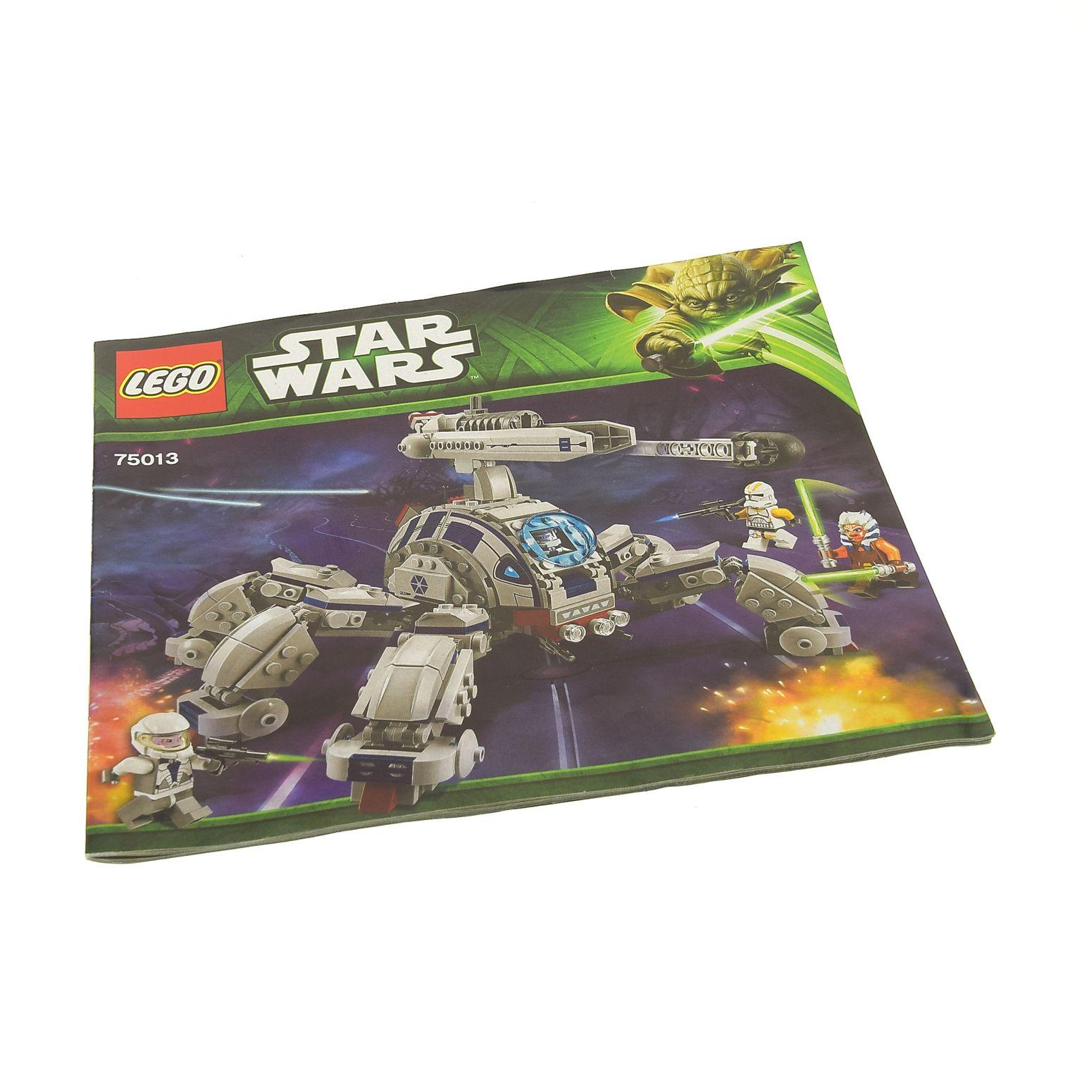 1 x lego system bauanleitung star wars clone wars umbaran mhc mobile kanone l ufer 75013. Black Bedroom Furniture Sets. Home Design Ideas
