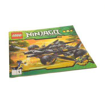 1 x Lego System Bauanleitung Heft 1 Ninjago Rise of the Snakes Coles Tarn Buggy 9444