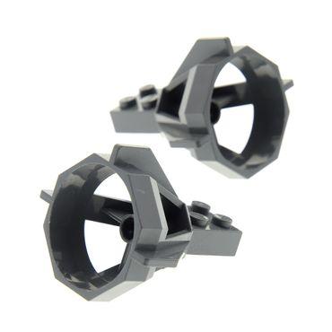 2 x Lego brick dark bluish gray Propeller Housing 4270627 6040