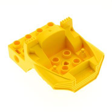 1 x Lego Duplo Toolo Führerhaus gelb 4x6 Kanzel Cockpit Bau Stein Fahrzeug 9206 4185735  31196c01