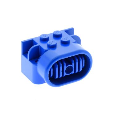1 x Lego brick blue Fabuland Airplane Motor / Engine Block, Technic Pin Hole Set 6345  4616b