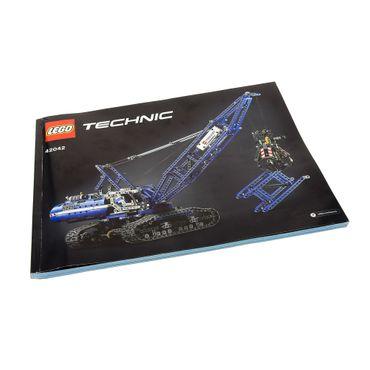 1 x Lego brick Instructions Technic Crawler Crane Book 42042