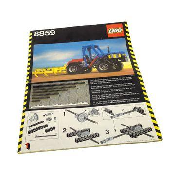 1 x Lego brick Instructions Technic Expert Builder Booklet Tractor 8859