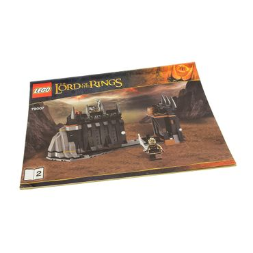 1 x Lego System Bauanleitung A4 Heft 2 The Hobbit and the Lord of the Rings Kampf am schwarzen Tor 79007