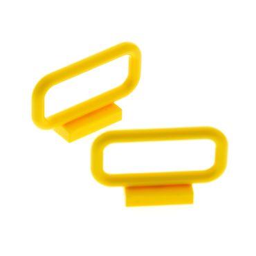 2 x Lego brick yellow Bar 1 x 4 x 2 Set Star Wars 6208 5855 41287 41325 4107090  6187