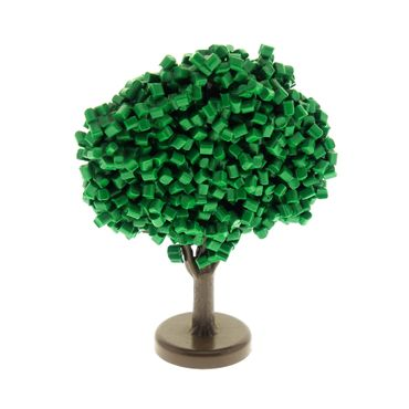 1 x Lego brick Green Plant, Tree Granulated Fruit GTFruit