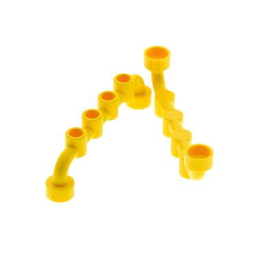 2 x Lego bricks yellow Bar 1 x 6 with Studs Closed 4212408 6140