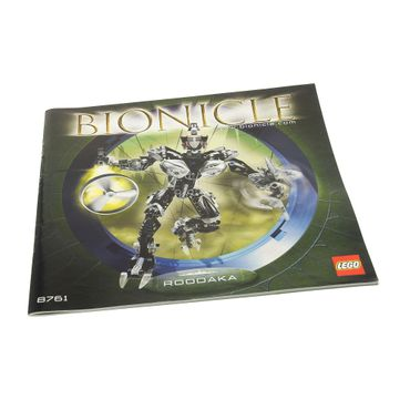 1 x Lego Brick Instructions Bionicle Titans Roodaka Booklet 8761