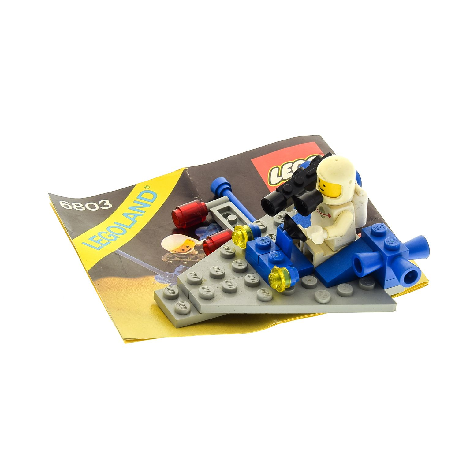 1 X Lego Brick For Set Classic Space 6803 Space Patrol Instruction