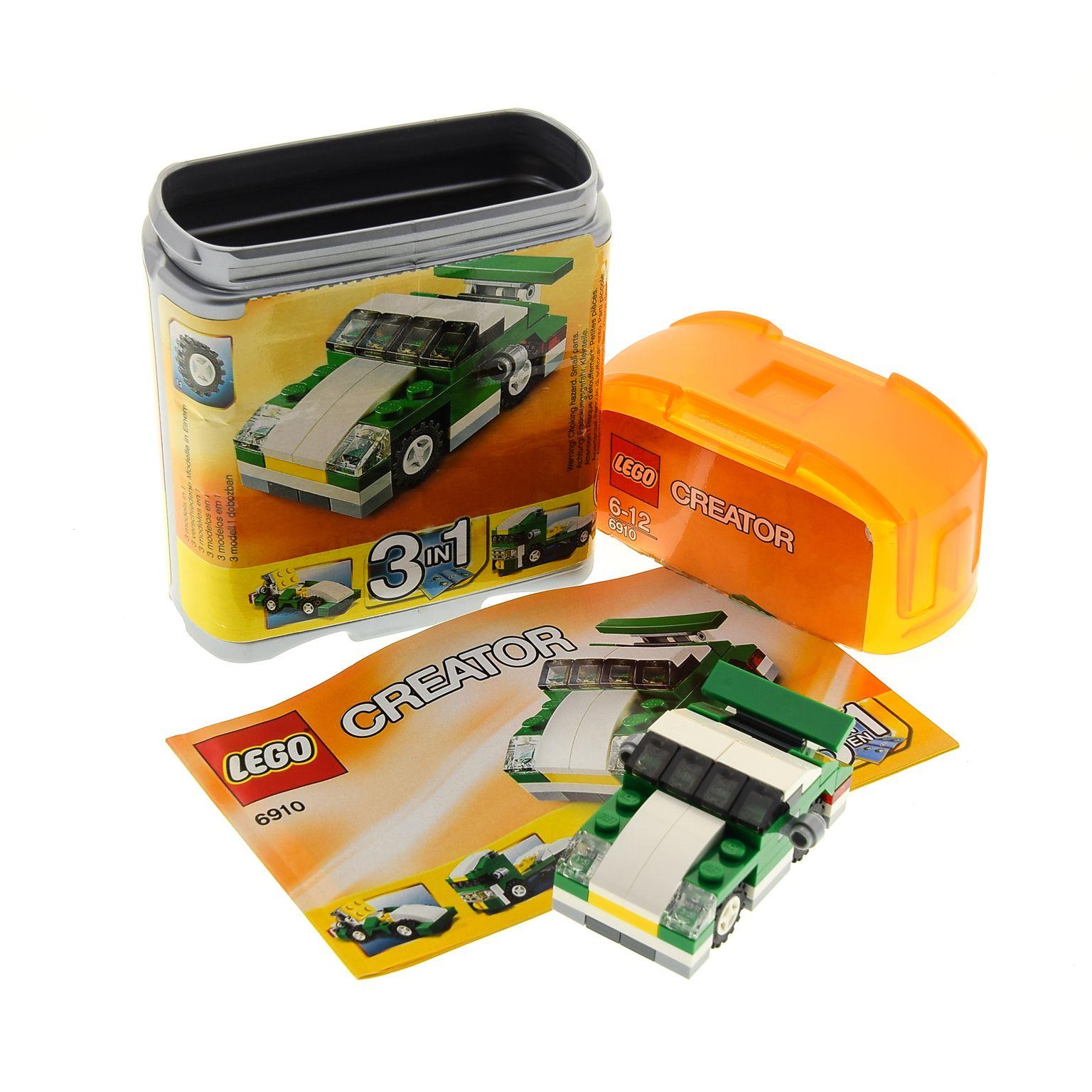 1 X Lego Brick For Set Creator Model Basic Traffic Mini Sports Car