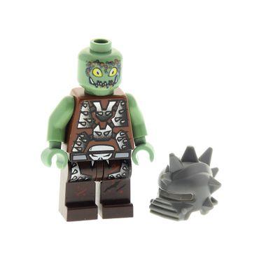 1 x Lego brick Minifigs Space Police III Space Police 3 Alien - Slizer 5974 5979 85944 973pb0590c01 sp102