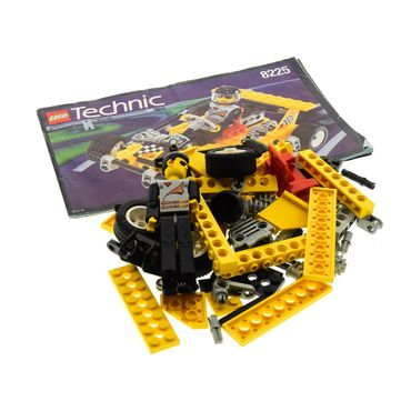 1 x Lego brick 8225 Model Race Technic Road Rally V with Instruction ( model incomplete )