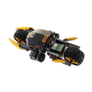 1 x Lego System Teile Set für Modell Ninjago Neustart 70733 Possession Blaster Bike Motorrad schwarz gold incomplete unvollständig