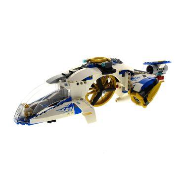 1 x Lego System Teile Set für Modell 70724 Ninjago Master of Spinjitzu Neustart Ninja Copter weiss incomplete unvollständig