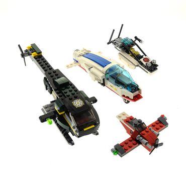 1 x Lego System Modell für Set Super Heroes 76030 Avengers Hydra Showdown 76007 Iron Man Malibu Mansion Attack Buggy Hubschrauber schwarz unvollständig