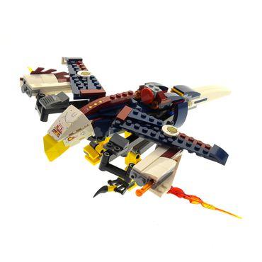 1 x Lego System Set Modell für 70142 Legends of Chima Eris' Fire Eagle Flyer Eris Feueradler blau incomplete unvollständig