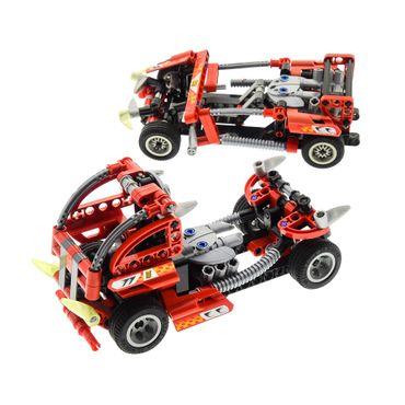 1 x Lego brick 8650 Furious Slammer Racer ( model incomplete )