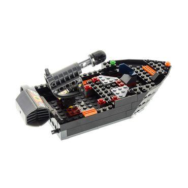 1 x Lego System Fahrzeug Set Modell Agents 8636 Mission 7 Deep Sea Quest schiff boot schwarz incomplete unvollständig