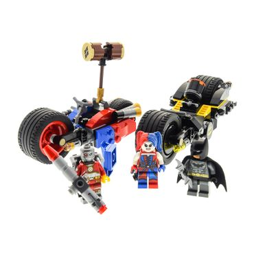 1 x Lego brick 76053 Super Heroes Batman II Gotham City Cycle Chase 3 Figures ( model incomplete )