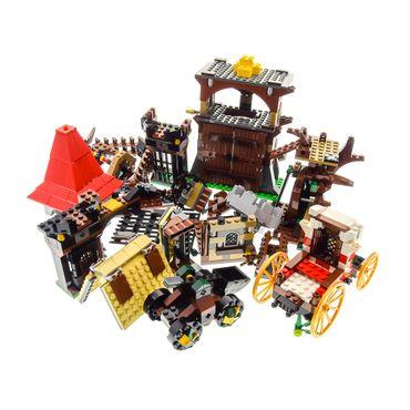 1 x Lego System Teile für Set Modell Kingdoms 7189 Mill Village Raid Windmühle 7946 King's Castle Burg grau incomplete unvollständig