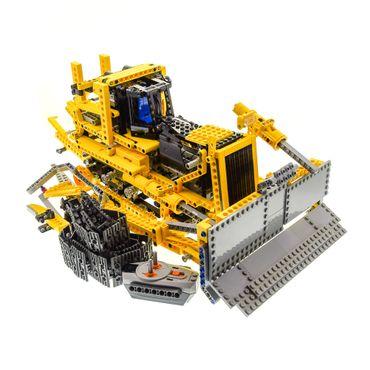 1 x Lego Technic Set Modell Nr. 8275 Motorized Bulldozer RC Planierraupe gelb Technik mit Powerfunktion geprüft incomplete unvollständig
