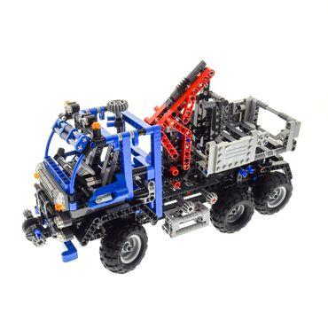 1 x lego technic set modell 8273 off road truck lkw blau. Black Bedroom Furniture Sets. Home Design Ideas