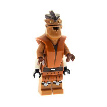 1 x Lego System Figur Star Wars  Clone Wars Pong Krell dunkel orange doppelter Oberkörper 75004 973pb1285c01 11330pb01c01 sw435