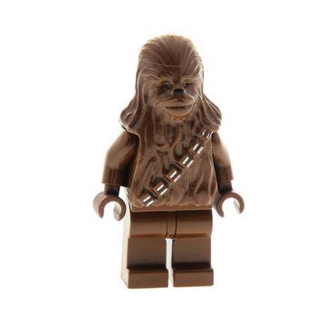 1 x Lego System Figur Star Wars Chewbacca braun Episode 4/5/6 7127 7190 3342  30483pb01 973c13 sw011