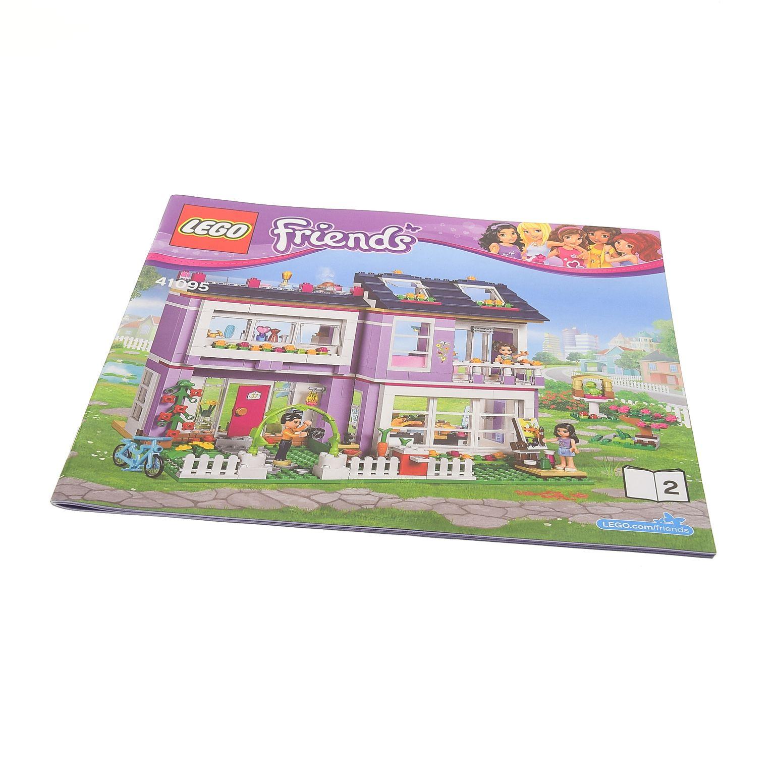 LEGO/DUPLO Spezialist | 1 x Lego brick Instructions Friends Emma's House  Booklet 2 41095