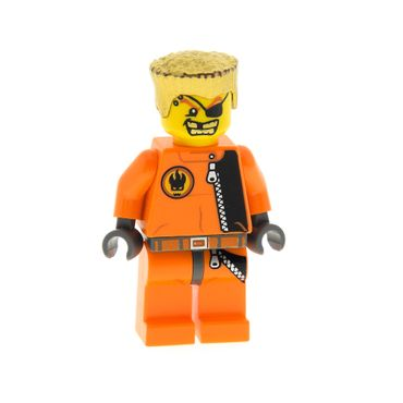 1 x Lego brick  Minifigs Agents Gold Tooth 8967 8630  973pb0486c01 agt007