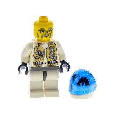 1 x Lego System Figur Mann LoM - Doc Torso weiss Doktor Space Life On Mars 7315 7312 973px80c01  lom016