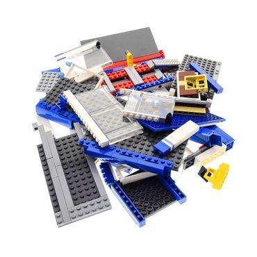 1 x Lego System Set Modell 60097 Teile für City Traffic City Square Autohaus Reparatur Service blau incomplete unvollständig